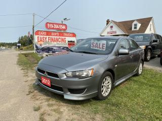 Used 2012 Mitsubishi Lancer ES call/text519 732 7478,really Low K's, beautiful condition inside and out. for sale in Brantford, ON