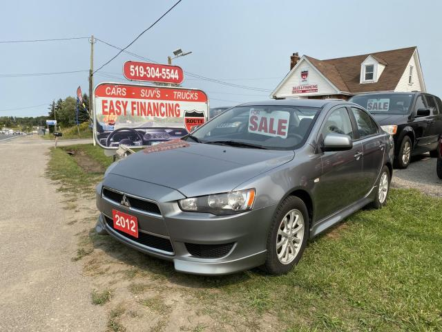 2012 Mitsubishi Lancer ES call/text519 732 7478,really Low K's, beautiful condition inside and out.