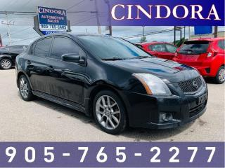 Used 2011 Nissan Sentra SE-R, Auto, NAV, Sunroof, Backup Cam for sale in Caledonia, ON