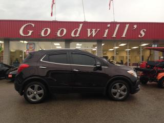 Used 2014 Buick Encore LEATHER! HEATED LEATHER! REMOTE START! SUNROOF! for sale in Aylmer, ON