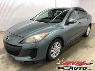 Used 2012 Mazda MAZDA3 GX MAGS BLUETOOTH A/C *Bas Kilométrage* for sale in Shawinigan, QC