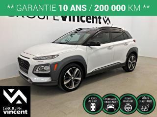 Used 2018 Hyundai KONA TREND AWD ** GARANTIE 10 ANS ** Récent et à bas kilométrage, occasion à ne pas manquer! for sale in Shawinigan, QC
