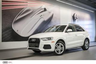 Used 2018 Audi Q3 KOMFORT - 2.0 TFSI - QUATTRO AWD for sale in Sherbrooke, QC