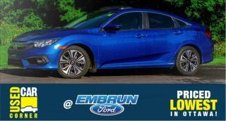 Used 2016 Honda Civic Sedan EX-T for sale in Embrun, ON