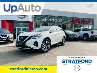 New 2020 Nissan Murano SL AWD for sale in Stratford, ON