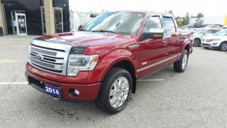 Used 2014 Ford F-150 PLATINUM for sale in New Hamburg, ON