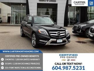 Used 2015 Mercedes-Benz GLK-Class NAVIGATION - MOONROOF - LEATHER - HEATED SEATS for sale in North Vancouver, BC