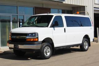 Used 2017 Chevrolet Express 3500 LT 12-Passenger - QUIGLEY 4X4 - 6.0L V8 for sale in Saskatoon, SK