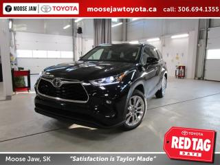 New 2020 Toyota Highlander LIMITED  for sale in Moose Jaw, SK