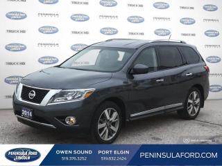 Used 2014 Nissan Pathfinder Platinum - Navigation - $134 B/W for sale in Port Elgin, ON