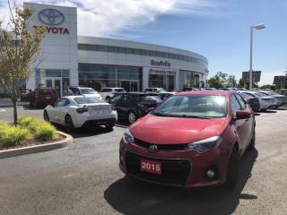 Used 2015 Toyota Corolla S TECHNOLOGY PACKAGE - TRD EXHAUST SYSTEM - HOOD TAPE for sale in Stouffville, ON