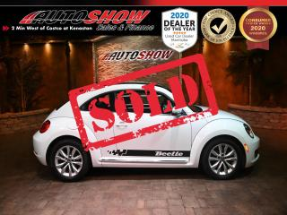 Used 2015 Volkswagen Beetle Coupe BEETLE!! LOW K  LEATHER, SUN ROOF  $15,800 financed!! for sale in Winnipeg, MB
