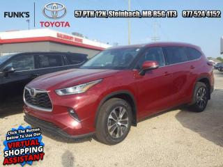 New 2020 Toyota Highlander XLE  - Power Moonroof -  Power Liftgate for sale in Steinbach, MB