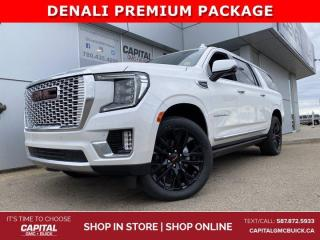 New 2021 GMC Yukon XL Denali 4WD for sale in Edmonton, AB