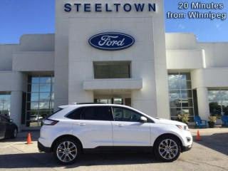 Used 2017 Ford Edge Titanium  - Leather Seats -  Bluetooth for sale in Selkirk, MB