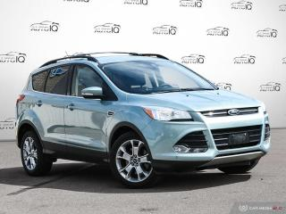 Used 2013 Ford Escape SEL NAVIGATION | AUTO-PARK ASSIST | BLIND SPOT MONITORS for sale in Oakville, ON
