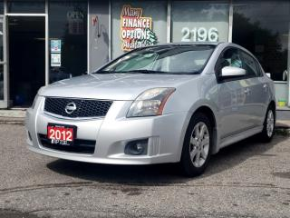 Used 2012 Nissan Sentra 4dr Sdn I4 CVT 2.0 S for sale in Bowmanville, ON