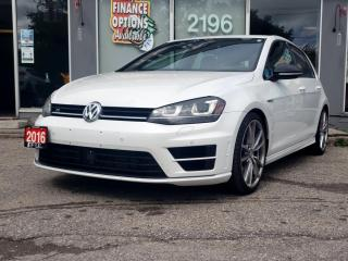 Used 2016 Volkswagen Golf R 5dr HB Man for sale in Bowmanville, ON
