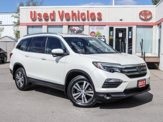 Used 2017 Honda Pilot EX-L DVD SUNROOF ALLOYS POWER/HEAT SEAT FOG LAMPS for sale in North York, ON
