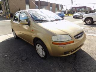 Used 2004 Chevrolet Aveo ***LS,BERLINE,AUTOMATIQUE,BAS KILO*** for sale in Longueuil, QC