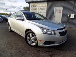 Used 2013 Chevrolet Cruze ***LT,TURBO,AUTOMATIQUE,MAGS,A/C*** for sale in Longueuil, QC