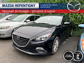 Used 2016 Mazda MAZDA3 Mazda 3 GS CRUISE SIEGES CHAUF 46.59$/SE for sale in Repentigny, QC