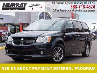 Used 2014 Dodge Grand Caravan 30th Anniversary *Stow & Go   Leather   GPS Nav* for sale in Winnipeg, MB