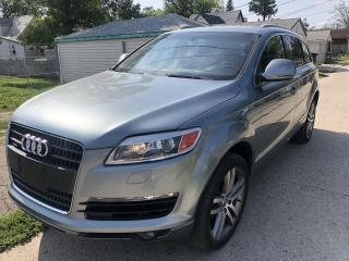 Used 2007 Audi Q7 Premium Plus for sale in Winnipeg, MB