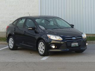 Used 2012 Ford Focus HEATED SEATS,FOG LIGHTS,LOW KMS,CERTIFIED,PWR OPTI for sale in Mississauga, ON