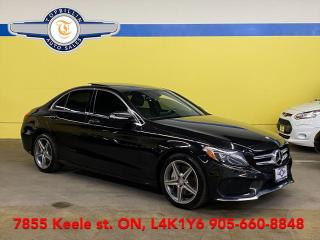Used 2015 Mercedes-Benz C-Class C400 4Matic, AMG Pkg, Blind Spot for sale in Vaughan, ON