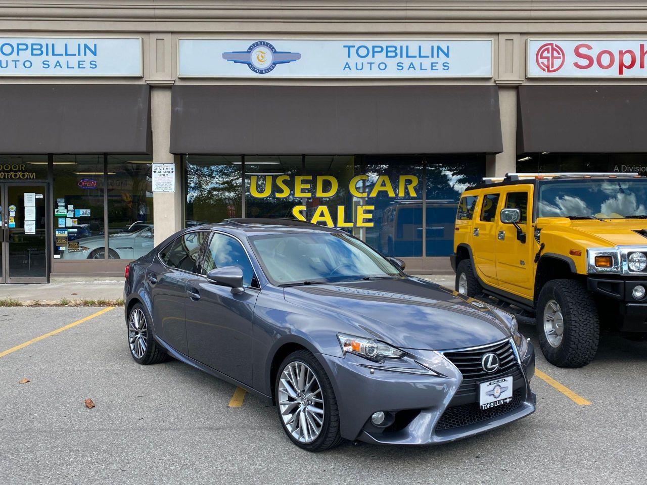 2014 Lexus IS 250 AWD, Extra Clean, Roof, B Cam