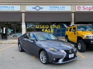 Used 2014 Lexus IS 250 AWD, Extra Clean, Roof, B Cam for sale in Vaughan, ON