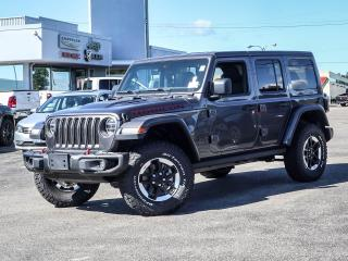 New 2020 Jeep Wrangler Unlimited Rubicon for sale in Simcoe, ON