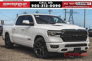 New 2020 RAM 1500 NIGHT EDITION | PANO ROOF | AIR RIDE | POWER BOARD for sale in Hamilton, ON