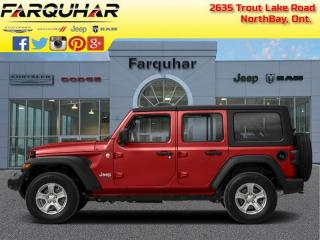 New 2020 Jeep Wrangler Unlimited Sahara for sale in North Bay, ON