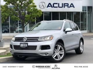 Used 2013 Volkswagen Touareg EXECLINE for sale in Markham, ON