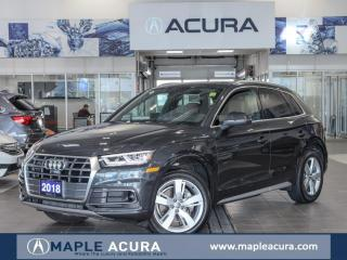 Used 2018 Audi Q5 2.0T Technik, Pano roof, Low Mileage, 360 views ca for sale in Maple, ON