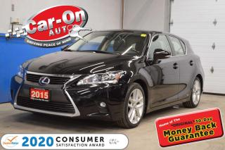 Used 2015 Lexus CT 200h HYBRID -TOURING PKG w/ SUNROOF for sale in Ottawa, ON