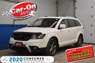 Used 2015 Dodge Journey CROSSROAD 7 PASS AWD LEATHER SUNROOF for sale in Ottawa, ON