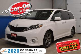 Used 2016 Toyota Sienna RARE SE 8 Pass LEATHER LOADED for sale in Ottawa, ON