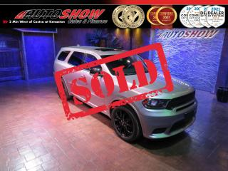Used 2019 Dodge Durango GT Plus Blacktop Edition! DVD, S.Roof, Nav!! for sale in Winnipeg, MB