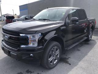 New 2020 Ford F-150 Lariat 4X4 SUPERCREW LARIAT 2.7L 502A for sale in Cornwall, ON