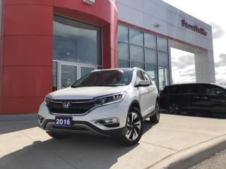 Used 2016 Honda CR-V Touring for sale in Whitchurch-Stouffville, ON