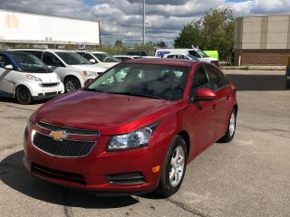Used 2012 Chevrolet Cruze 4dr Sdn LT Turbo  w/1SB for sale in Caledon, ON