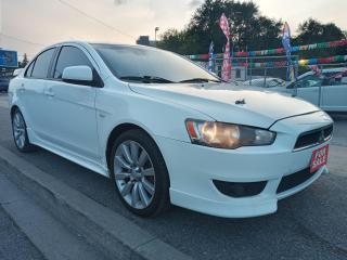 Used 2008 Mitsubishi Lancer GTS-4 CYL-BLUETOOTH-AUX-AMAZING ON GAS-ALLOYS for sale in Scarborough, ON