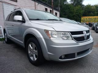 Used 2010 Dodge Journey SXT-EXTRA CLEAN-7 SEATS-BLUETOOTH-AUX-ALLOYS for sale in Scarborough, ON