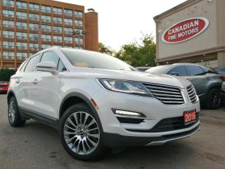 Used 2016 Lincoln MKC NAV / CAM / PANO ROOF / LEATHER for sale in Scarborough, ON