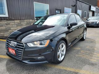 Used 2016 Audi A3 2.0T Komfort-AWD-SUNROOF-LEATHER-BLUETOOTH for sale in Tilbury, ON