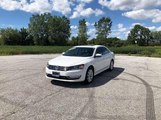 Used 2014 Volkswagen Passat HIGHLINE for sale in Windsor, ON