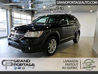 Used 2018 Dodge Journey Gt V6 Awd 7 Passager **Intérieur cuir** for sale in Rivière-Du-Loup, QC